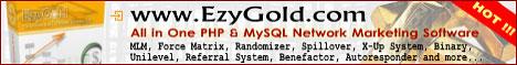 EzyGold.com - The Ultimate Network Marketing Suite :: EzyGold.com features